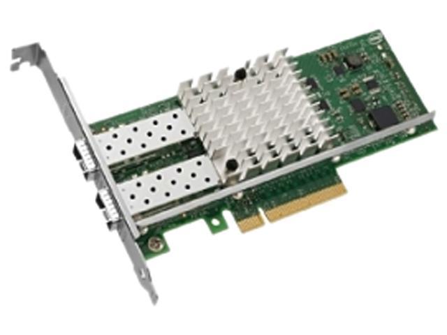 Intel X520-SR2 Dual Ports 10 Gigabit Ethernet Converged Network Adapter, PCI Express 2.0 x8, Low Profile
