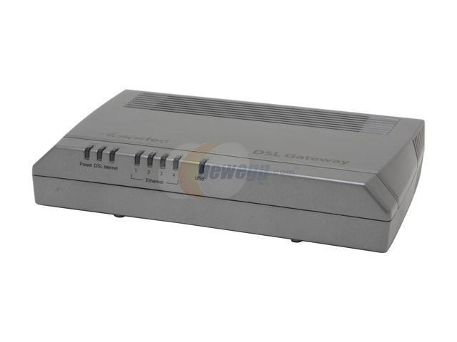 Actiontec GS503AD3A-01 DSL Gateway with 4-port Switch 10Mbps Downstream, 1Mbps Upstream