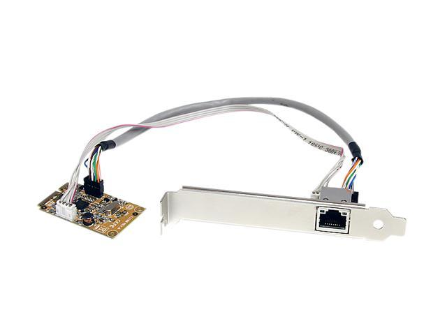StarTech ST1000SMPEX 10/100/1000Mbps mini PCI Express Gigabit Ethernet Network Adapter Card