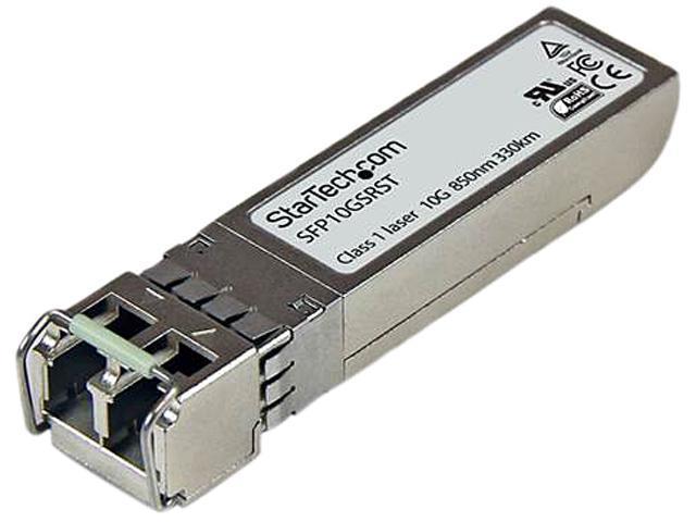 StarTech SFP10GSRST Cisco Compatible SFP+ Fiber Transceiver