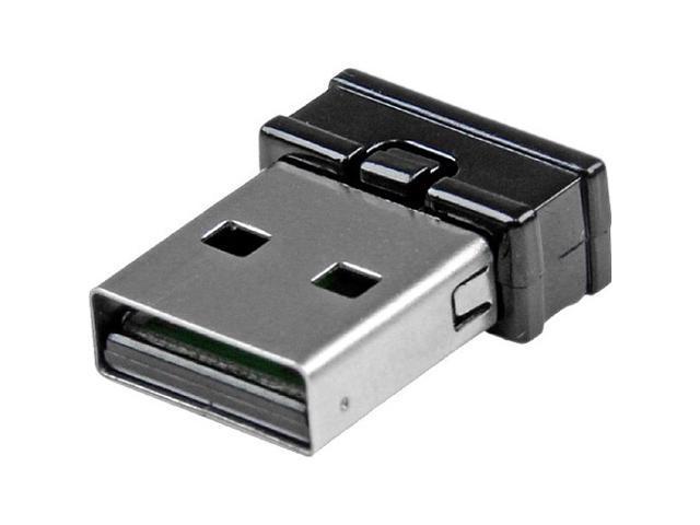 StarTech.com Mini USB Bluetooth 4.0 Adapter - 10m (33ft) Class 2 EDR Wireless Dongle