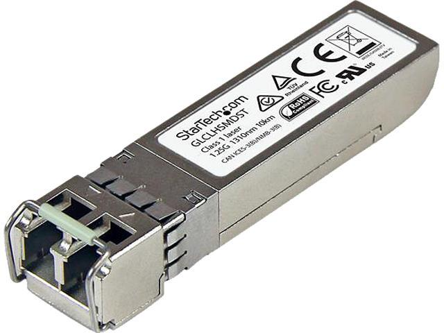 STARTECH GLCLHSMD10ST Gigabit Fiber SFO Transceiver Module, SM/MM LC - 10km / 550m - 10 Pack