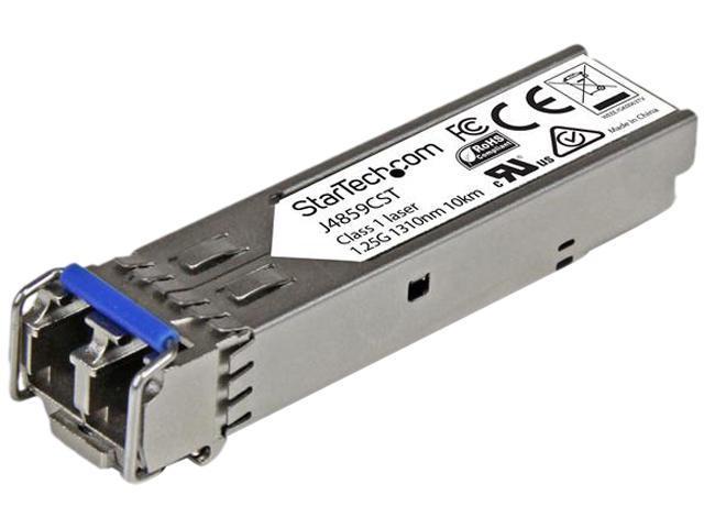 StarTech J9150AST 10 Gigabit Fiber SFP+ Transceiver Module - HP J9150A Compatible - MM LC with DDM - 300m (984 ft) - 10GBase-SR