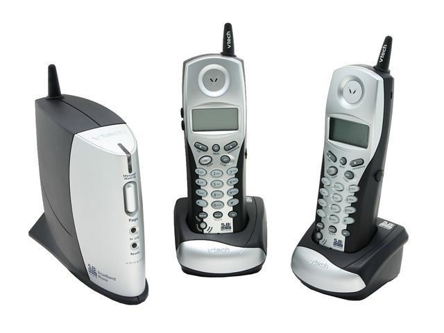 Vtech VT-IP8100-2 VoIP Expandable Telephone System