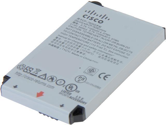 Cisco CP-BATT-7925G-STD Unified Wireless IP Phone 7925G Battery, Standard