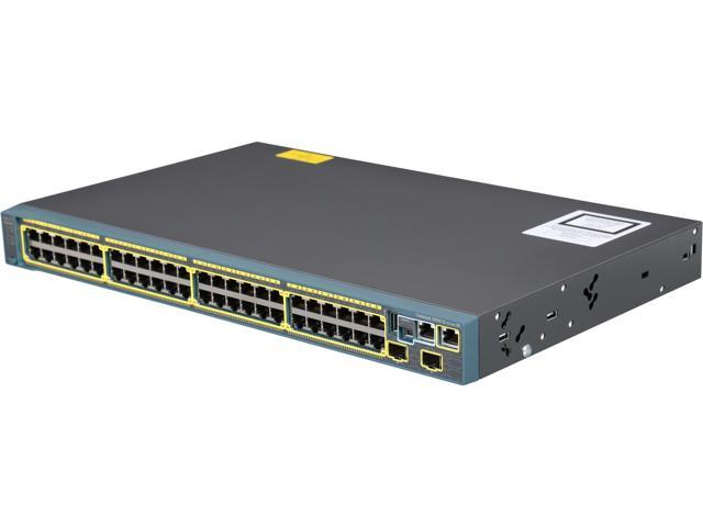 CISCO Catalyst 2960-S Series WS-C2960S-48TS-S Network - Switches Switch