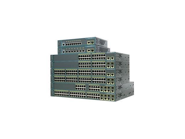 CISCO Catalyst 2960 Series WS-C2960G-24TC-L-RF 10/100/1000Mbps Switch with LAN Base Software