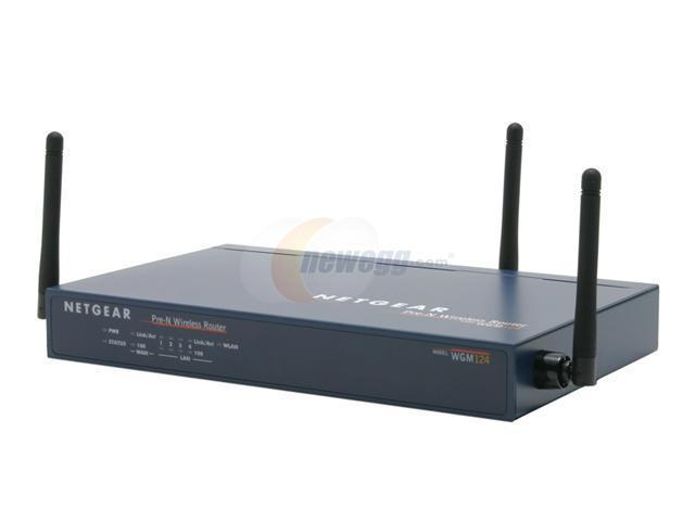 NETGEAR WGM124 Wireless Router IEEE 802.11b/g