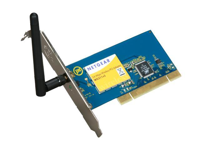 NETGEAR WG311 PCI Wireless Adapter