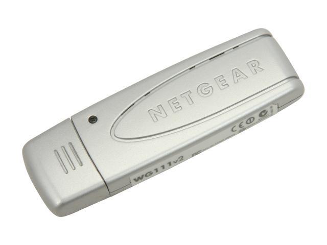 NETGEAR WG111-100USR USB 2.0 Wireless Adapter