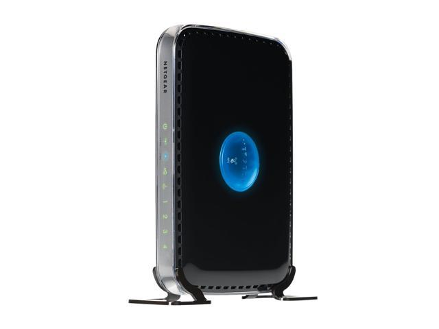 NETGEAR WNDR3400-100NAS IEEE 802.11a/b/g/n 2.4/5GHz Simultaneous Dual Band N600 Wireless Router / 10/100 Mbps Ethernet Port x4