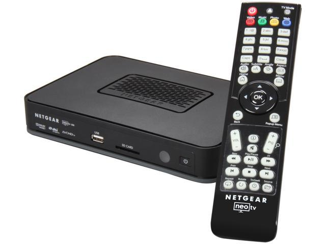 NETGEAR NTV550-100NAS Neo TV 550 Ultimate HD Media