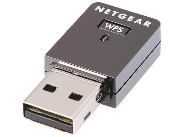NETGEAR WNA1000M-100ENS USB 2.0 G54/N150 Wireless Micro Adapter