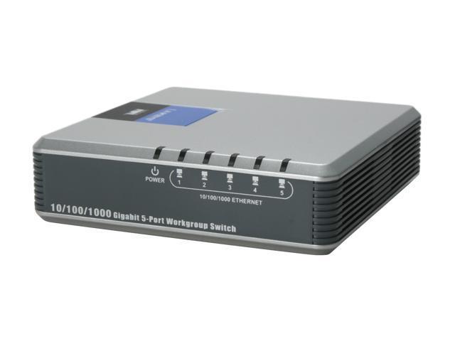 LINKSYS EG005W Gigabit 5-Port Switch