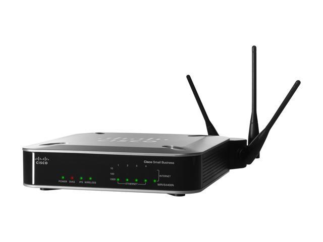 Cisco Small Business WRVS4400N Wireless-N Gigabit Security Router