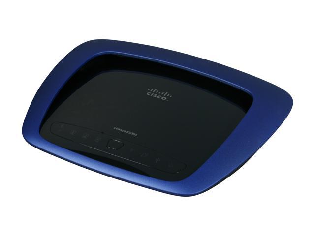 Linksys E3000 2.4GHz / 5GHz simultaneous Dual Band Gigabit Wireless Router