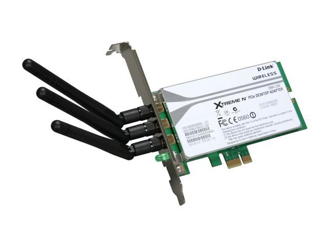 D-Link DWA-556 PCI Express Xtreme Desktop Adapter