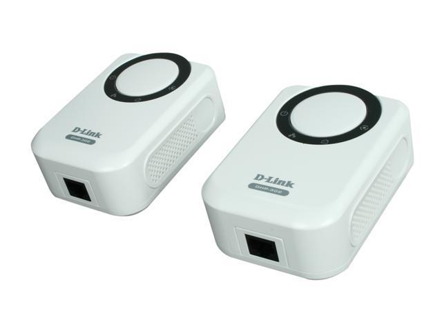 D-Link DHP-303 PowerLine HD Network Starter Kit