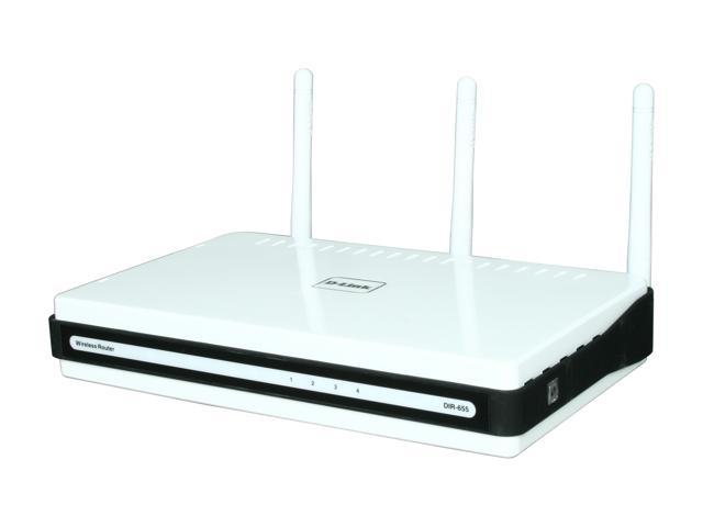 D-Link Xtreme Gigabit Router (DIR-655/RE) Wireless N300, USB SharePort, Gigabit