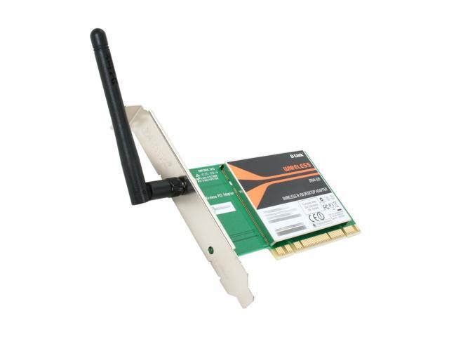 D-Link DWA-525 PCI 2.0 Wireless N 150 Desktop Adapter