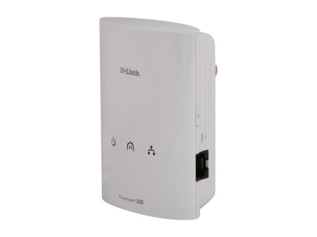 D-Link PowerLine AV 500 Adapter (DHP-500AV) Up to 500 Mbps