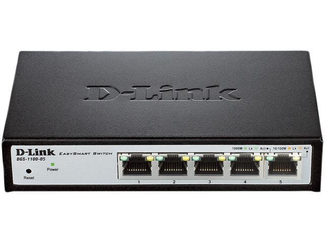 D-Link DGS-1100 DGS-1100-05 Smart Switch