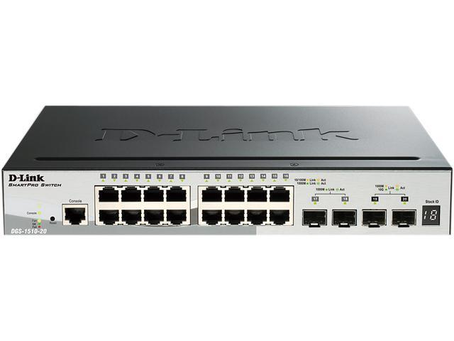 D-Link DGS-1510-20 Managed Switch