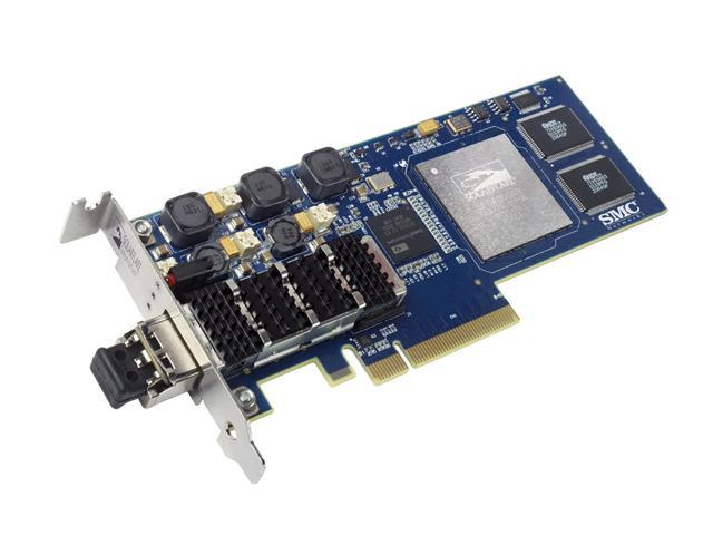 SMC LG-ERICSSON SMC10GPCIE-XFP 10/20Gbps PCI Express 1.1 x 8 Server Adapter