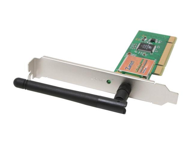 Zonet ZEW1602 PCI 2.2 Wireless Adapter