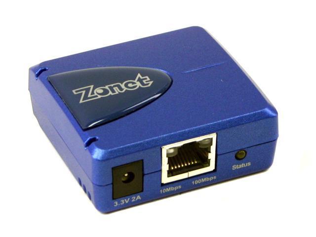 Zonet ZPS1000 Pocket-Sized Print Server