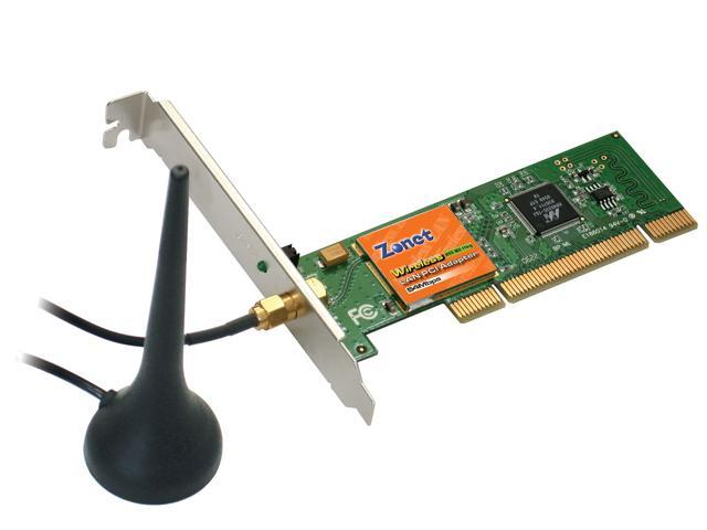 Zonet ZEW1602A PCI Wireless PCI Adapter w/Extended Antenna