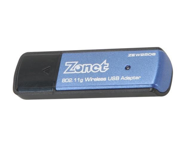 Zonet ZEW2508A USB 2.0 Wireless Adapter w/ USB Cradle