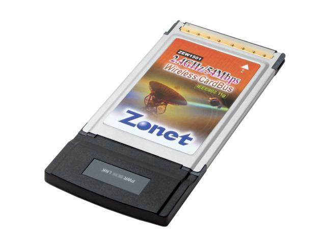 Zonet ZEW1501 802.11g Wireless LAN CardBus Adapter