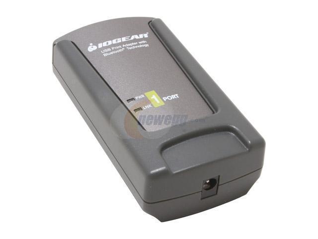 IOGEAR GBP201KIT USB 1.1 Bluetooth Print Adapter Kit for USB Printers