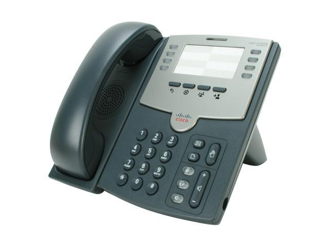 Cisco Small Business SPA501G 8 Line IP Phone PoE and PC Port