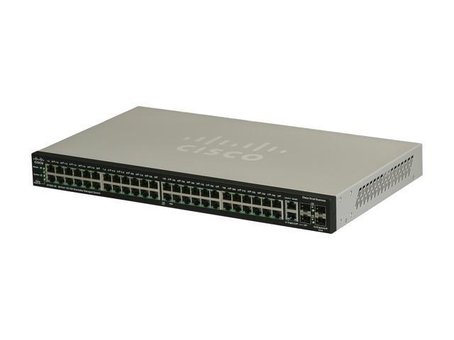 Cisco Small Business 500 Series SF500-48-K9-NA Managed Stackable Managed Ethernet Switch
