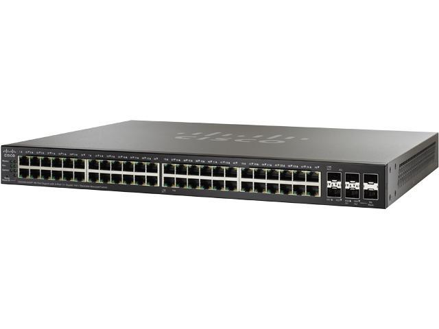Cisco Small Business 500 Series SG500X-48MP-K9-NA Managed Switch