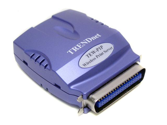 TRENDnet TEW-P1P Wireless Print Server with 1 Parallel Port
