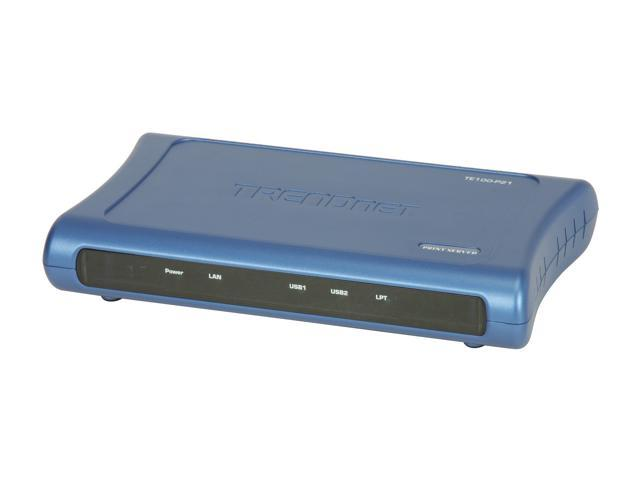 TRENDnet TE100-P21 10/100Mbps Multi-Port Print Server