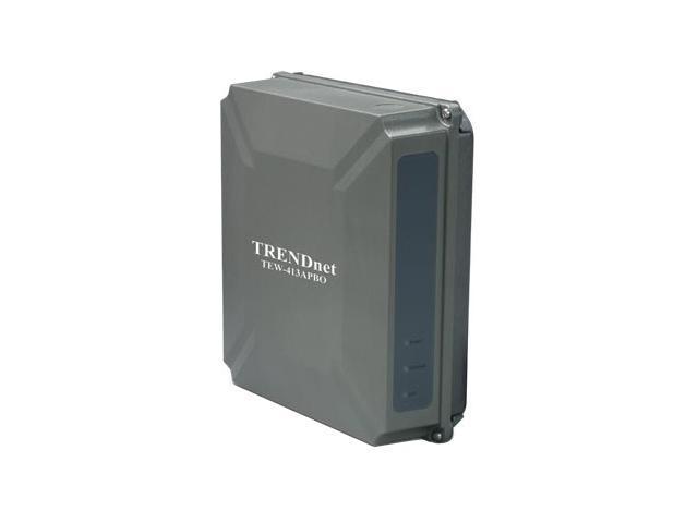 TRENDnet TEW-413APBO 54Mbps 802.11g High Power Wireless Outdoor AP Bridge