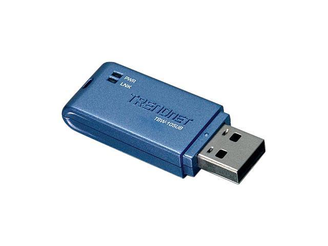 TRENDnet TBW-105UB USB 2.0 Compact Bluetooth Adapter