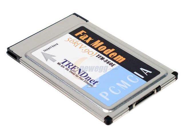 TRENDnet TFM-560E PC Card
