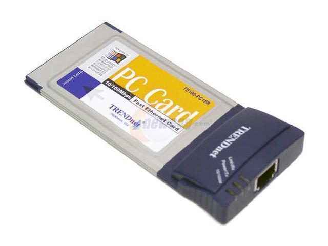 TRENDnet TE100-PC16R PC Card