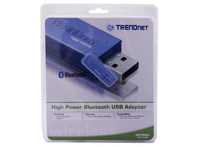 TRENDnet TBW-102UB USB 1.1 High-Power Wireless Bluetooth Adapter