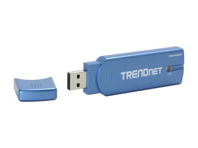 TRENDnet TEW-444UB USB 2.0 Wireless Super G Adapter