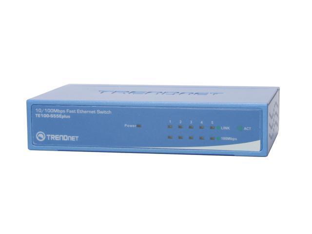 TRENDnet TE100-S55Eplus Switch