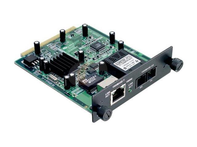 TRENDnet TEG-S24M11CF 2-port Gigabit (1-port SC-type, 1-port RJ-45) module for TEG-S2400i