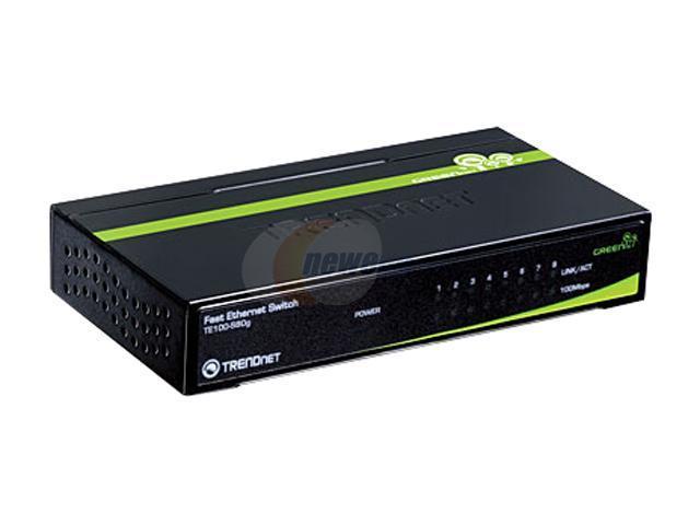 TRENDnet TE100-S80g GREENnet Switch