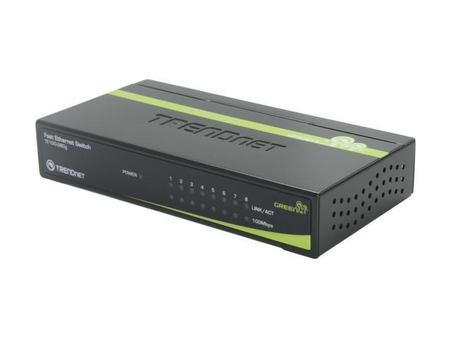 TRENDnet TE100-S80g Smart GREENnet Switch