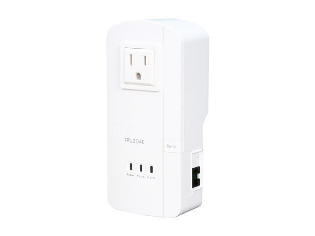 TRENDnet TPL-304E Powerline AV Adapter with Bonus Plug